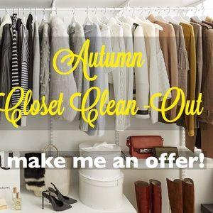 Autumn Closet Clean-Out!